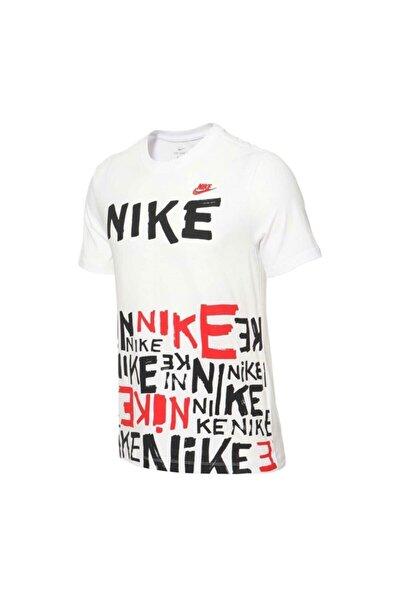 Erkek Günlük Tshirt M Nsw Tee Prınted Aop Hbr Da0218