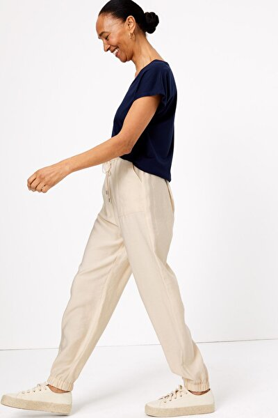 Kadın Vizon Tencel™ Utility Tapered Pantolon T57006119