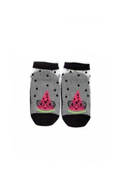 Watermelon Monofilement Kız Çocuk Patik Çorap