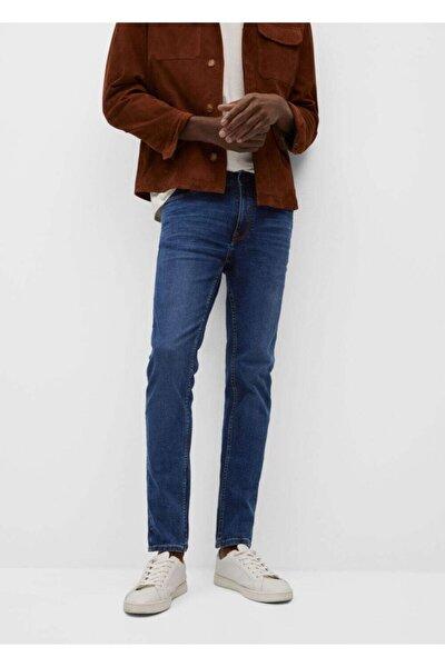 Erkek Mavi Skinny Koyu Yıkama Jude Jean Pantolon