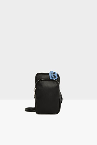 Siyah Kadın Cepli Mini Askılı Çanta M000005794
