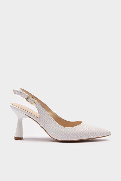 Beyaz Kadın Stiletto 01AYH214450A900