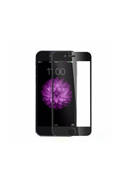 Apple Iphone 6s Plus 5d Tam Kaplayan Ekran Koruyucu Kırılmaz Cam Siyah