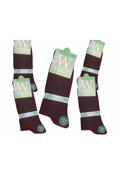 Erkek Siyah 5'li Paket Bambu Dikişsiz Soket Çorap