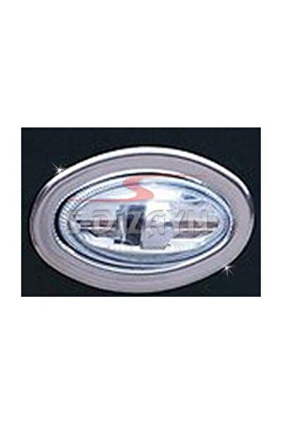 Citroen Berlingo Krom Sinyal Çerçevesi 2 Prç 1996-2008