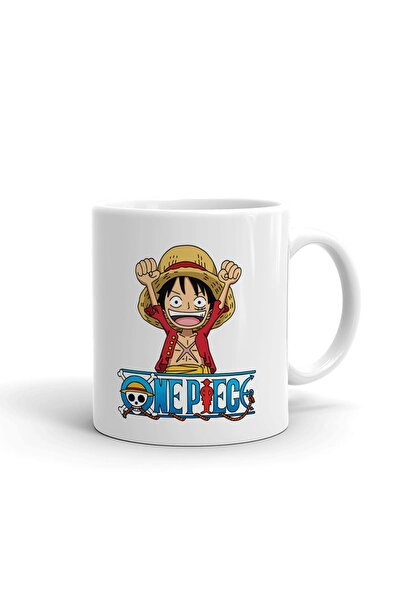 One Piece Seramik Kupa Bardak