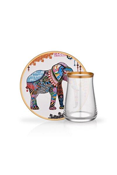 Tarabya Elephant 2li Çay Seti