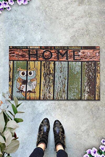 HOME OWL 45x70 cm İç ve Dış Kapı Önü Paspasları