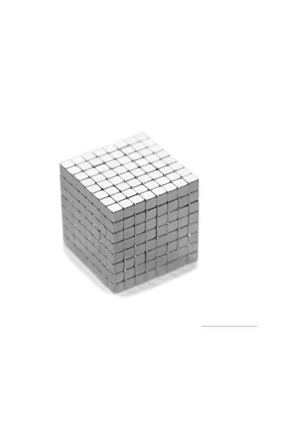 100 Adet 3mm X 3mm X 3mm Küp Neodyum Mıknatıs(100'lü Paket)