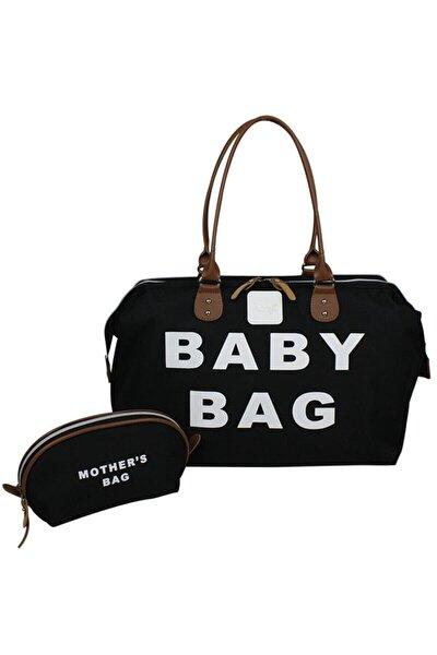 Baby Bag Anne Bebek Bakım Kadın Çantası-siyah