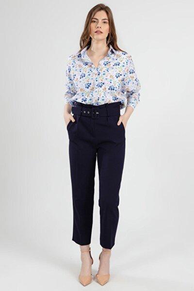 Kadın Yüksek Bel Kumaş Pantolon Y20s110-6464