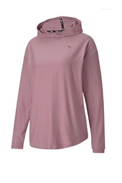 Kadın Spor Sweatshirt - Studio Knit Foxglove Heather - 51951301