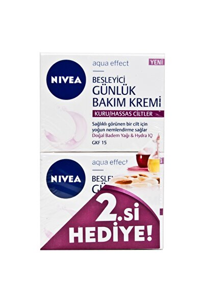 Nıvea Vısage Günlük Nem.krem 2li K/h