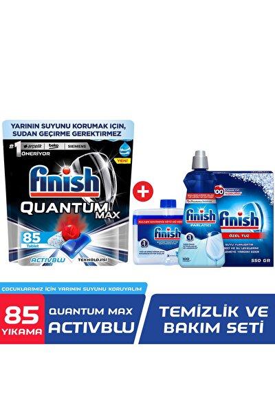 Quantum Max 85 Bulaşık Deterjanı + Temizlik Ve Bakım Seti