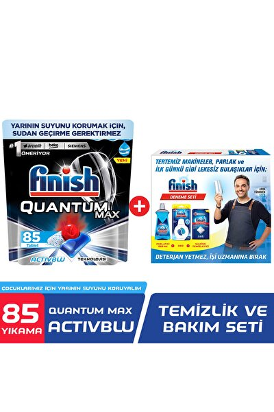 Quantum Max 85 Kapsül Bulaşık Makinesi Deterjanı + Performans Deneme Seti