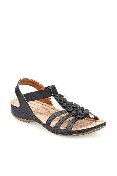 91.157362.Z Siyah Kadın Sandalet 100374708