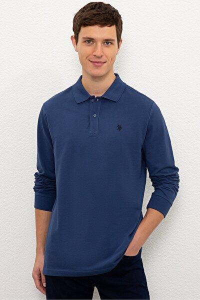 Mavı Erkek Sweatshirt