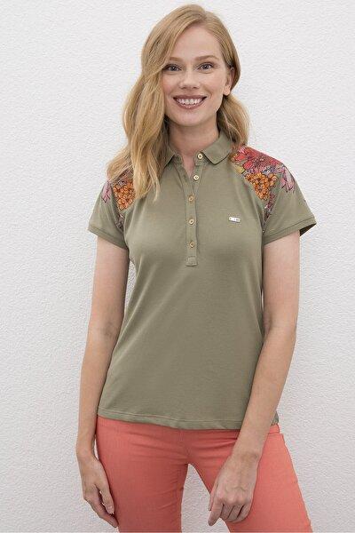 Yeşil Kadin T-Shirt