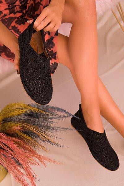 Siyah Kadın Casual Ayakkabı 16218