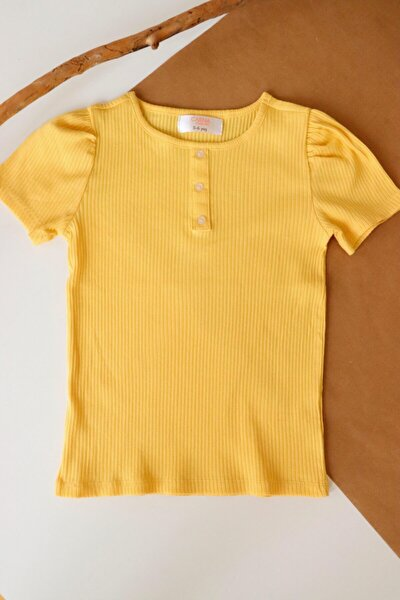 Kız Çocuk Kısa Kollu T-shirt