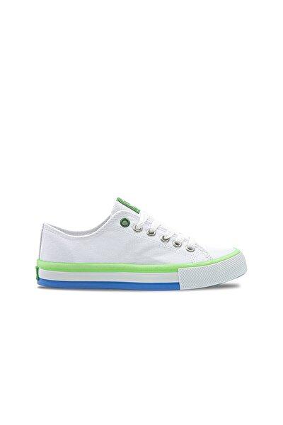 Kadın Beyaz-yeşil Spor Ayakkabı 30176