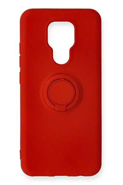General Mobile Gm 20 Uyumlu Kırmızı Viktor Yüzüklü Silikon Kılıf