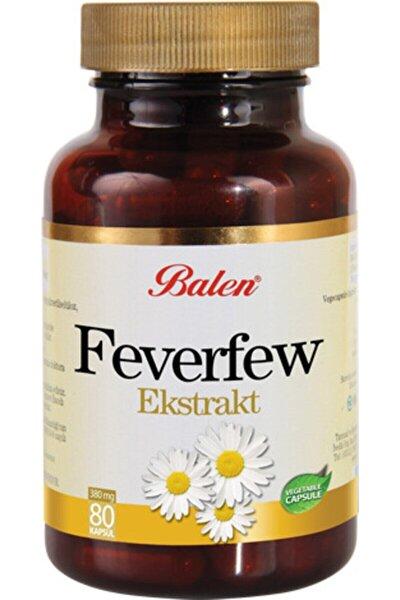 Feverfew Ekstrakt Kapsül 455mg 80 Adet