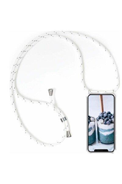 Iphone 11 Şeffaf Boyun Askılı Silikon Kılıf