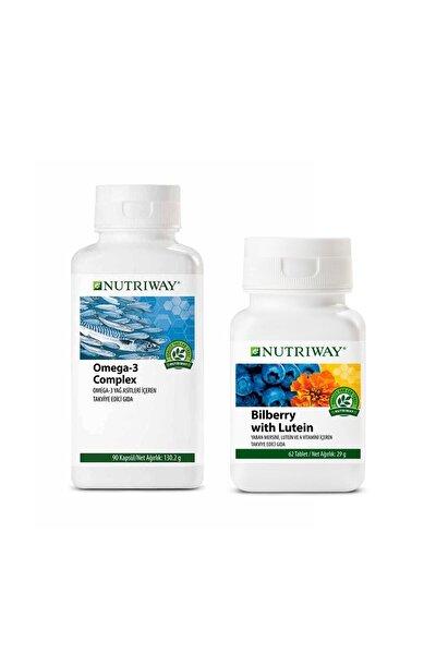 Göz Güçlendirici Nutriway Vitamin Seti