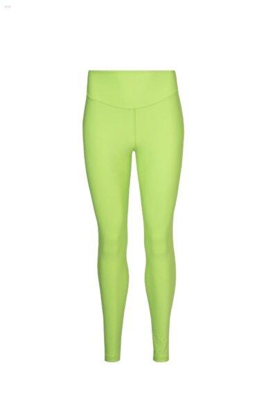 Kadın Neon Yeşil Tayt