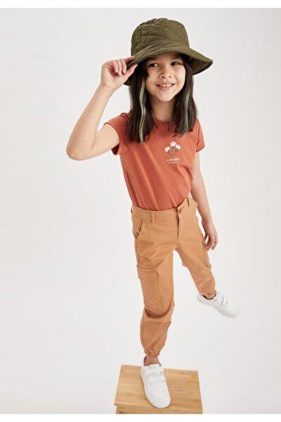 Kız Çocuk Kargo Jogger Pantolon