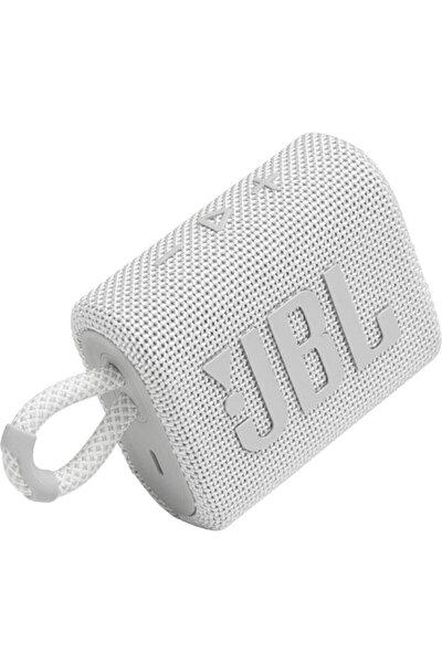Beyaz Go 3 Taşınabilir Bluetooth Hoparlör