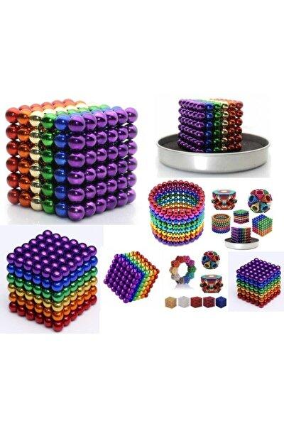 Sihirli Manyetik Toplar Dyum Mıknatıs Küp Bilye 216 Adet Cube Küp Dymium