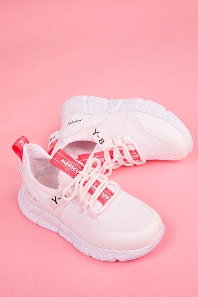 Beyaz-orange Çocuk Sneaker 3144