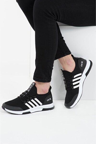 Unisex Siyah Ultra Hafif Spor Ayakkabı