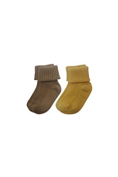 2'li Paket Bebek Çorabı