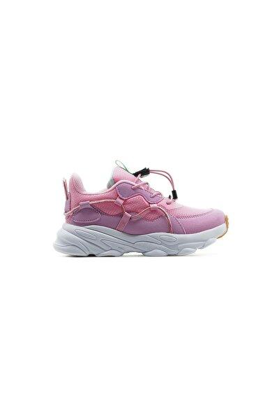 Kız Çocuk Pembe Sneaker Spor Ayakkabı 21y 346.160 Fk