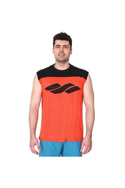 Erkek Turuncu Futbol Tişört