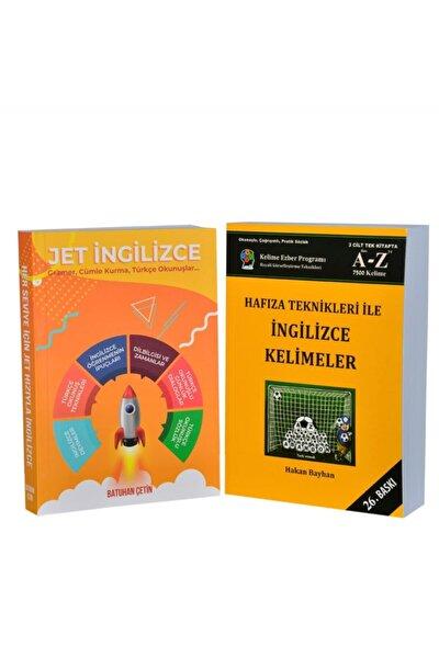 Jet Ingilizce - Hafıza Teknikleri ( Ikili Set ) - 14x20 Cm Ebatları