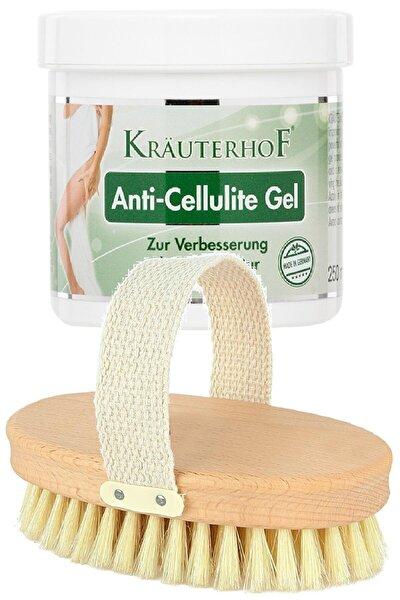 Anti-cellulite Gel 250ml + %100 Doğal Masaj Fırçası