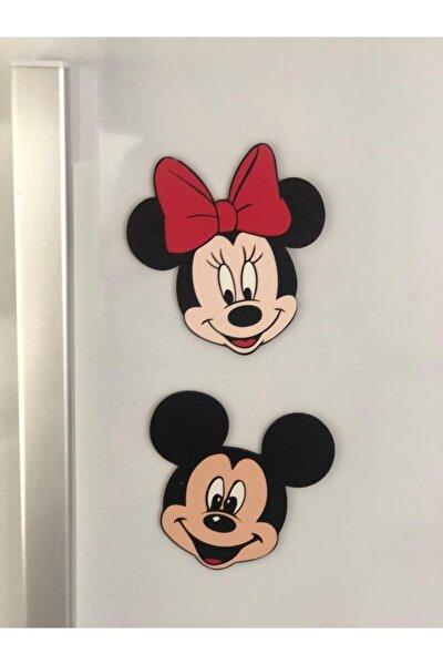 Magnetli Minnie & Mickey Figürleri