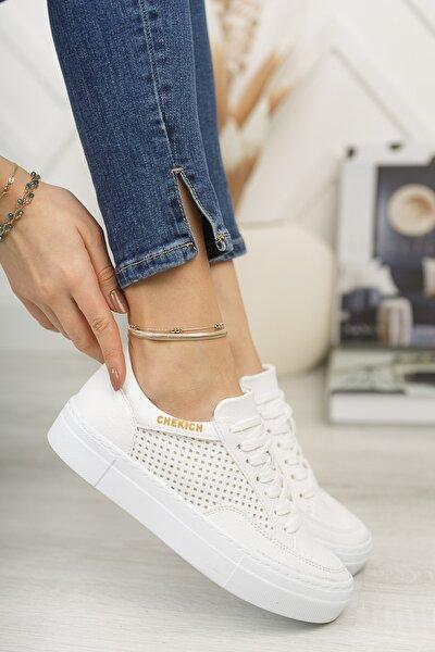 Ch015 Kadın Ayakkabı Beyaz