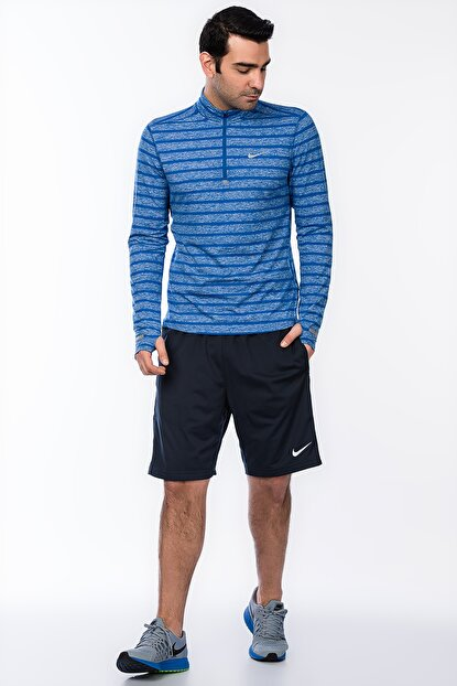 Erkek Sweatshirt - Element Stripe 1/2 Zip Nike