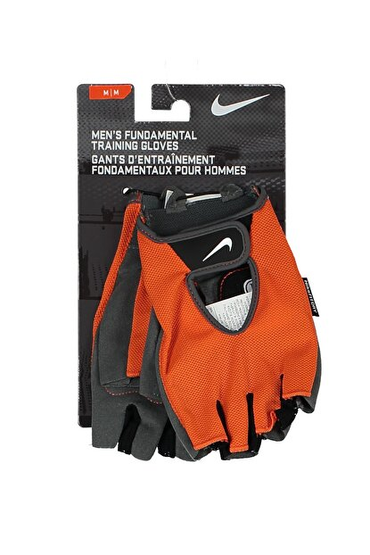 Nike Erkek Antrenman Eldiven - Fundm Training Gloves S Safety Orange -