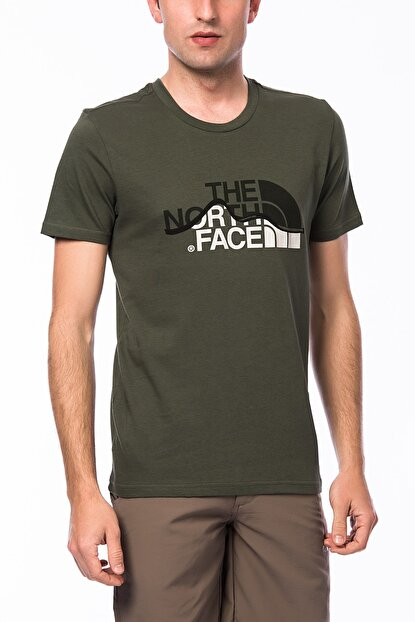 THE NORTH FACE Erkek M S/S Mountain Line Tee T-shirt