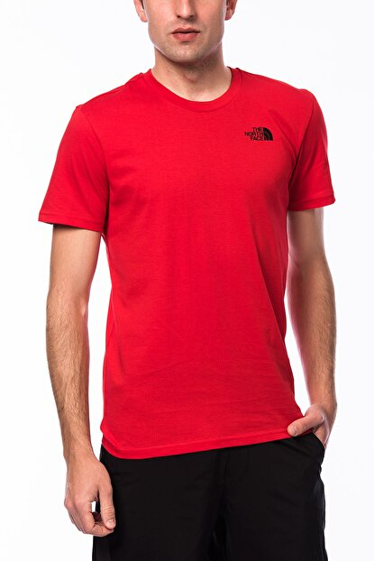 THE NORTH FACE Erkek M S/S Simple Dome Tee T-shirt