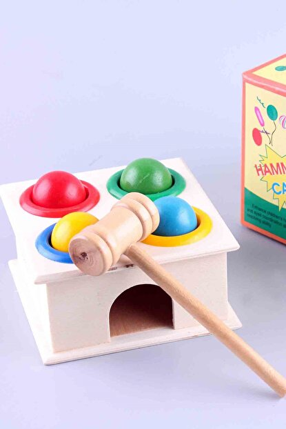 Learning Toys Hammer Case Vertical Box