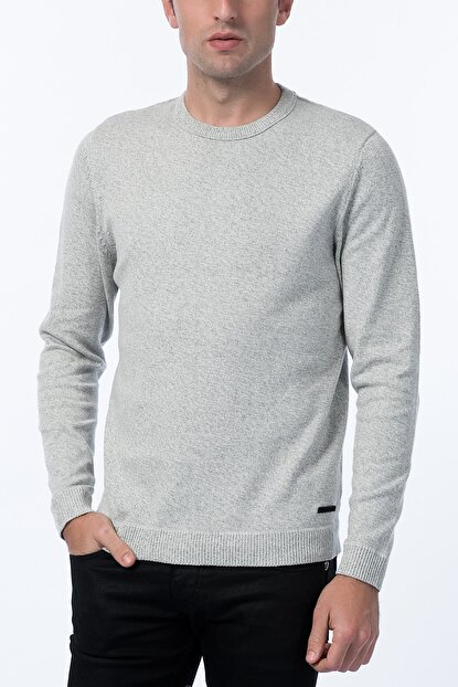 Jack & Jones Kazak - Twisting Core Knit Crew Neck