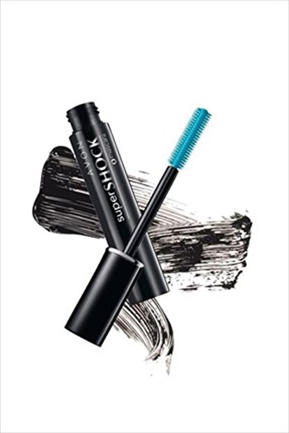 AVON Siyah Maskara - Super Shock Mascara Black
