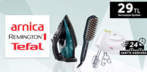 Arnica & Tefal & Remington